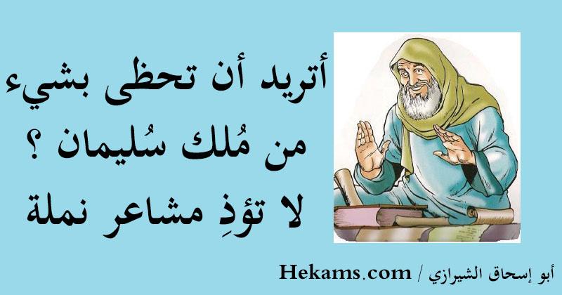 أقوال أبو إسحاق الشيرازي