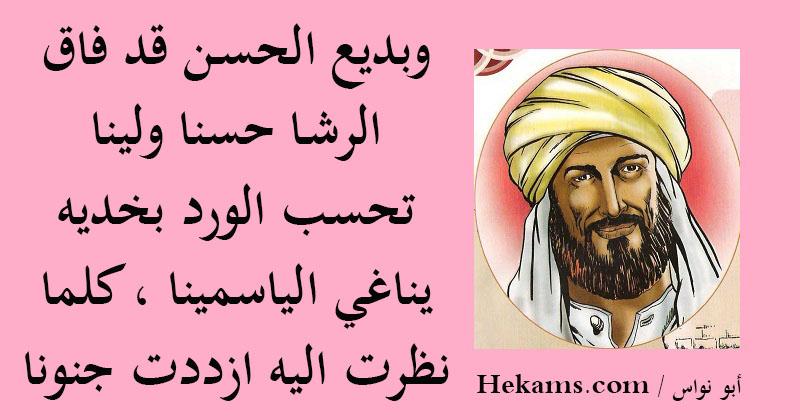 أقوال أبو نواس