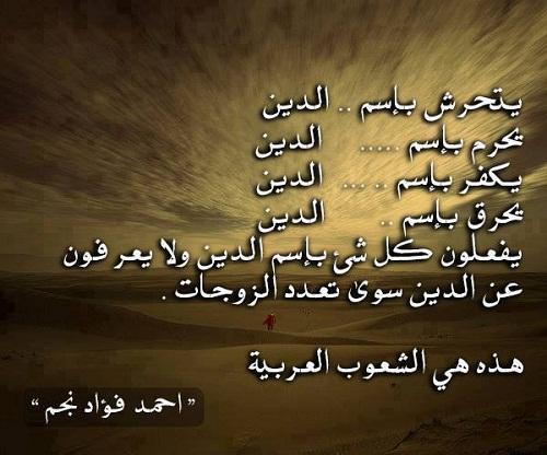 حكم واقوال أحمد فؤاد نجم مصورة