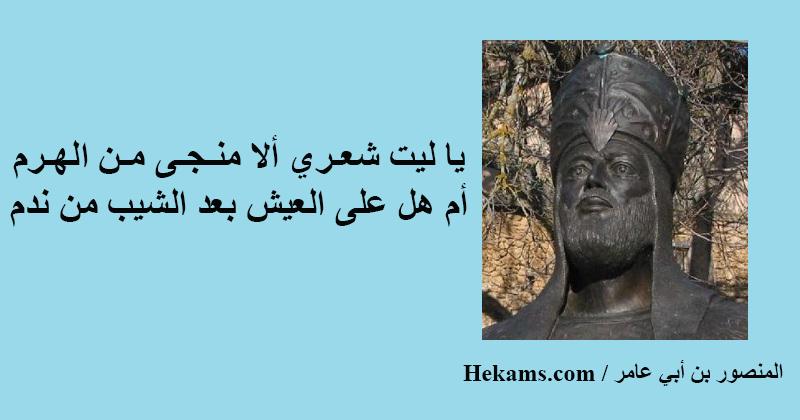 أقوال المنصور بن أبي عامر