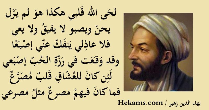 أقوال بهاء الدين زهير