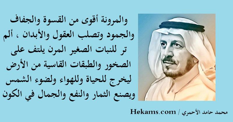 أقوال محمد حامد الأحمري