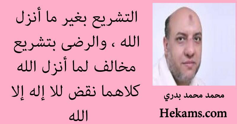 أقوال محمد محمد بدري